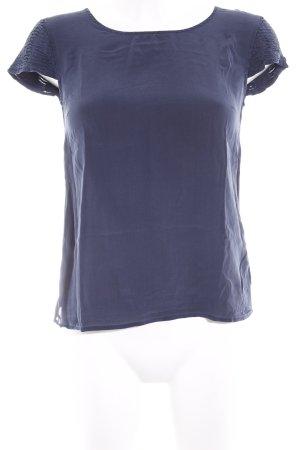 Massimo Dutti T-Shirt dunkelblau schlichter Stil