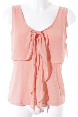 Massimo Dutti Tanktop apricot Romantik-Look