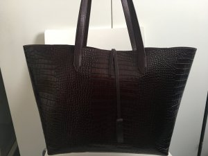 Massimo Dutti Handbag multicolored leather