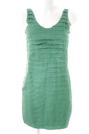 Massimo Dutti Trägerkleid grün Casual-Look