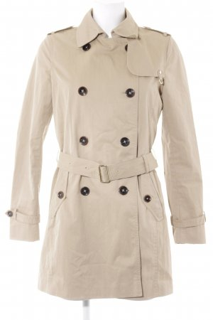 Massimo Dutti Trenchcoat beige Business-Look