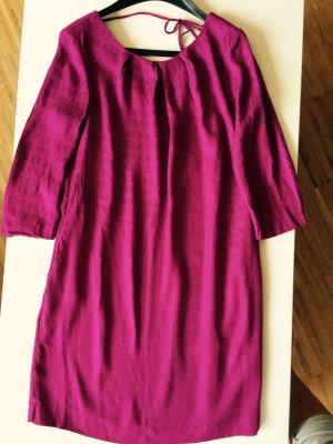 Massimo Dutti Tunika Kleid Violett