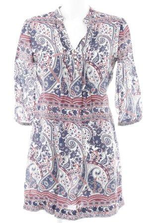 Massimo Dutti Robe tunique motif floral style simple