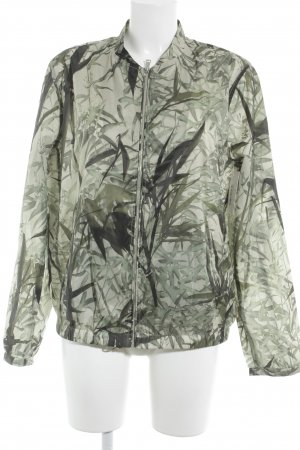 Massimo Dutti Übergangsjacke florales Muster Casual-Look