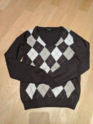 massimo Dutti V-Neck Pullover Wolle