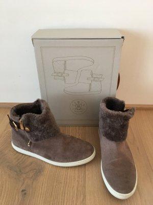 Massimo Dutti Wintersneaker in Taupe