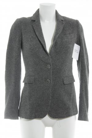 Massimo Dutti Wool Blazer grey-white flecked Brit look