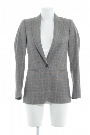Massimo Dutti Blazer en laine motif à carreaux style d'affaires