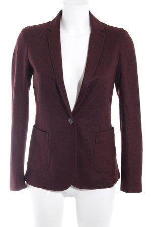 Massimo Dutti Woll-Blazer purpur Business-Look