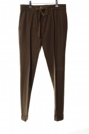 Massimo Dutti Woolen Trousers brown casual look
