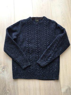 Massimo Dutti Zopfmuster Pullover Größe M