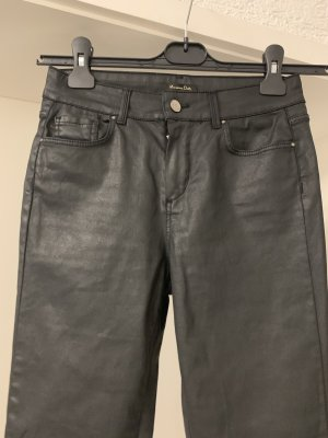 Massimo Dutti Stretch broek zwart
