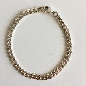 Massiv 925 Sterling Silber Armband mit Karabiner silberarmband kette