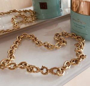 Cadena de eslabón color oro