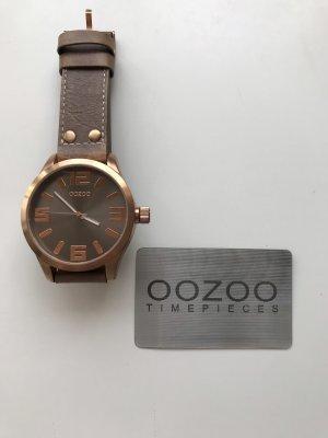 Massive Uhr von OOZOO / roségold