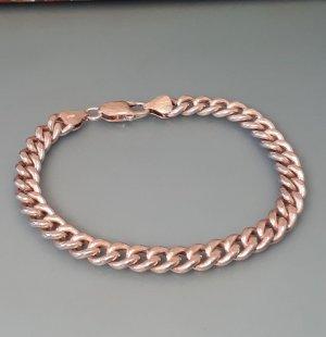 Massives Sterling Vintage Armband Silber 925 Gliederarmband Panzerarmband