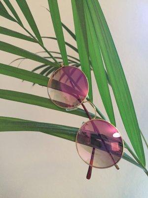 Masterdis Sonnenbrille Sunglasses Gold/Rosa neu!