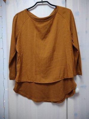 Materialmix Longshirt