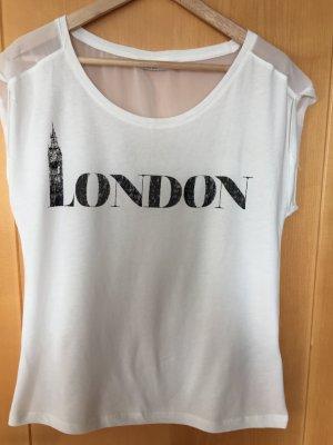Materialmix-Shirt von Only