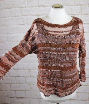 ALDO MARTIN'S Coarse Knitted Sweater multicolored mixture fibre