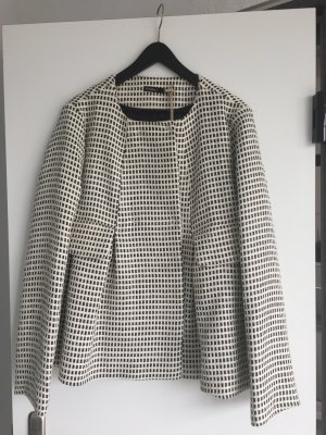 Mathilda NEU Jacke weit geschnitten Weiß/schwarz