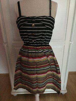 vestido de globo multicolor