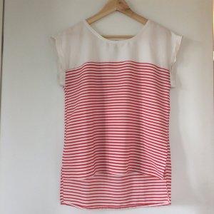 Matrosen Shirt in rot/weiß