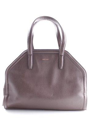 Matt & Nat Carry Bag dark brown elegant