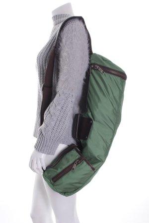 Matt & Nat Sporttasche grün-dunkelbraun sportlicher Stil