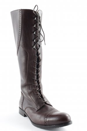 Matteo Frattani Lace-up Boots brown simple style