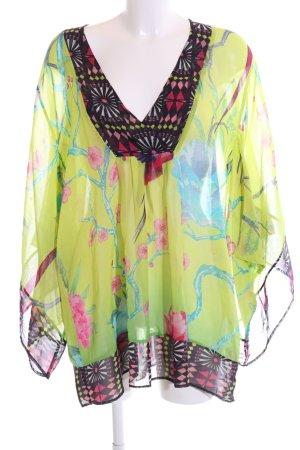 Matthew Williamson for H&M Kimono Blouse flower pattern extravagant style