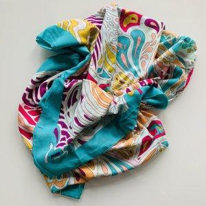Matthew Williamson for H&M Tuch Schal Pareo 150x150 cm bunt Bio-Baumwolle