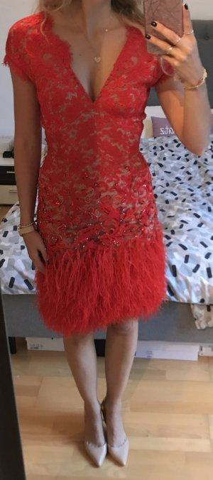 Matthew williamson Vestido rojo-nude