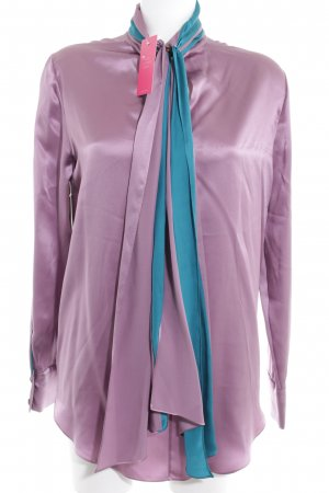 Matthew williamson Seidenbluse graulila Business-Look