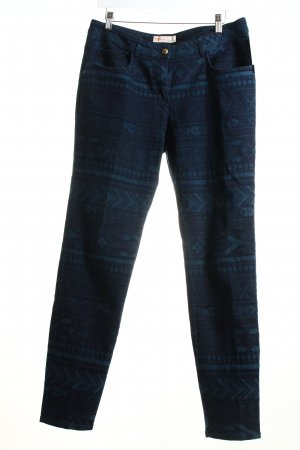 Matthew williamson Stretch Jeans petrol-dunkelblau Ethnomuster Casual-Look
