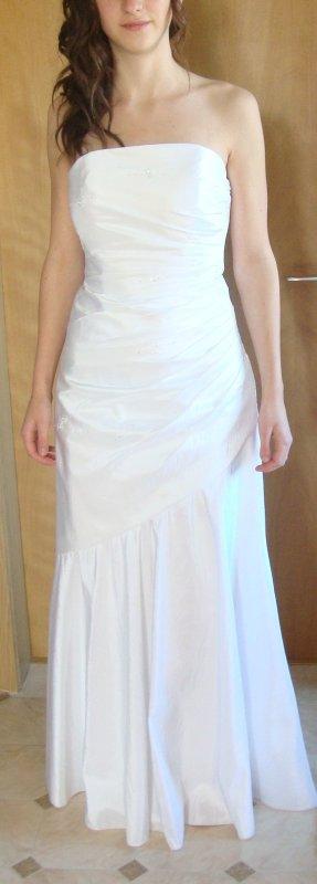 Maturaballkleid weiß