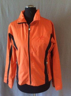 Maui Sports Jacke Gr XS orange schwarz
