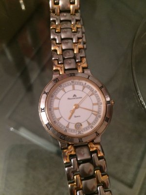 Maurice Lacroix Watch With Metal Strap silver-colored-gold-colored