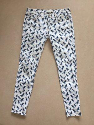 Mauro Grifoni Drainpipe Trousers multicolored cotton