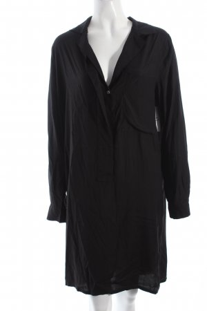 Mauro Grifoni Long-Bluse schwarz Casual-Look