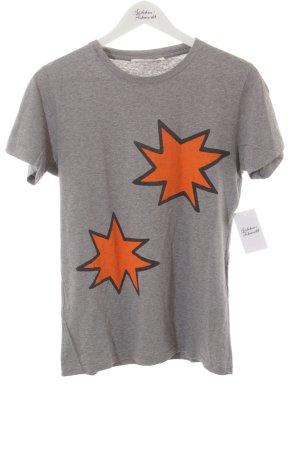 Mauro Grifoni T-Shirt Sternenmuster schlichter Stil