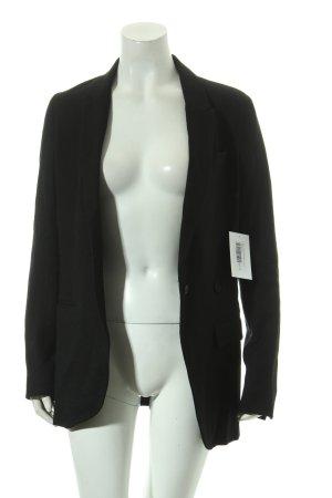 Mauro Grifoni Woll-Blazer schwarz Business-Look