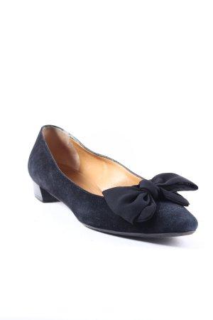 Mauro Teci Ballerinas schwarz Elegant
