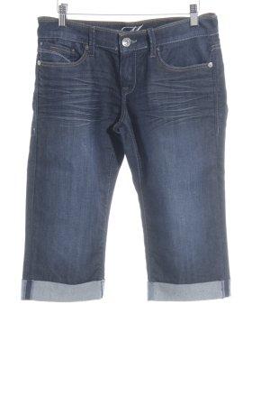 Mavi 3/4-jeans donkerblauw casual uitstraling
