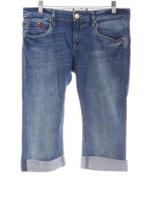 Mavi Jeans a 3/4 blu acciaio stile casual