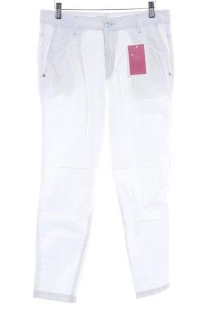 Mavi Pantalon 7/8 blanc style décontracté