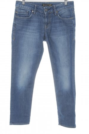 Mavi Jeans 7/8 bleu style décontracté