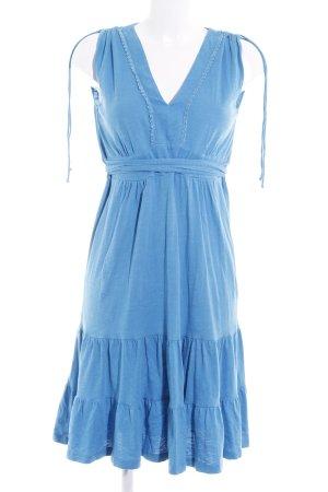 Mavi A-Linien Kleid blau Romantik-Look