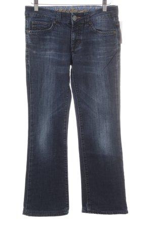 Mavi Boot Cut Jeans dark blue casual look