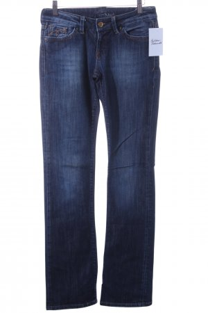 Mavi Boot Cut Jeans dunkelblau Casual-Look